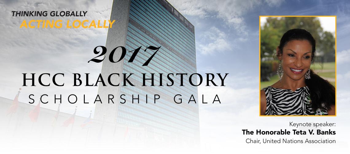 Black History Scholarship Gala homepage