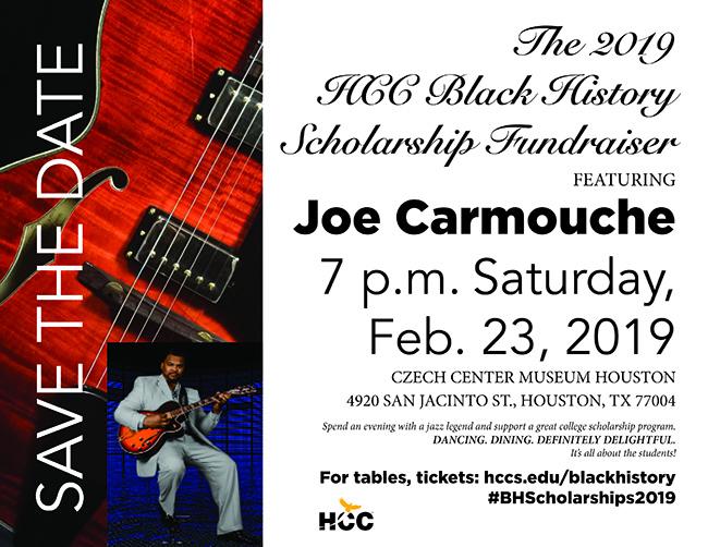 black history scholarship fundraiser