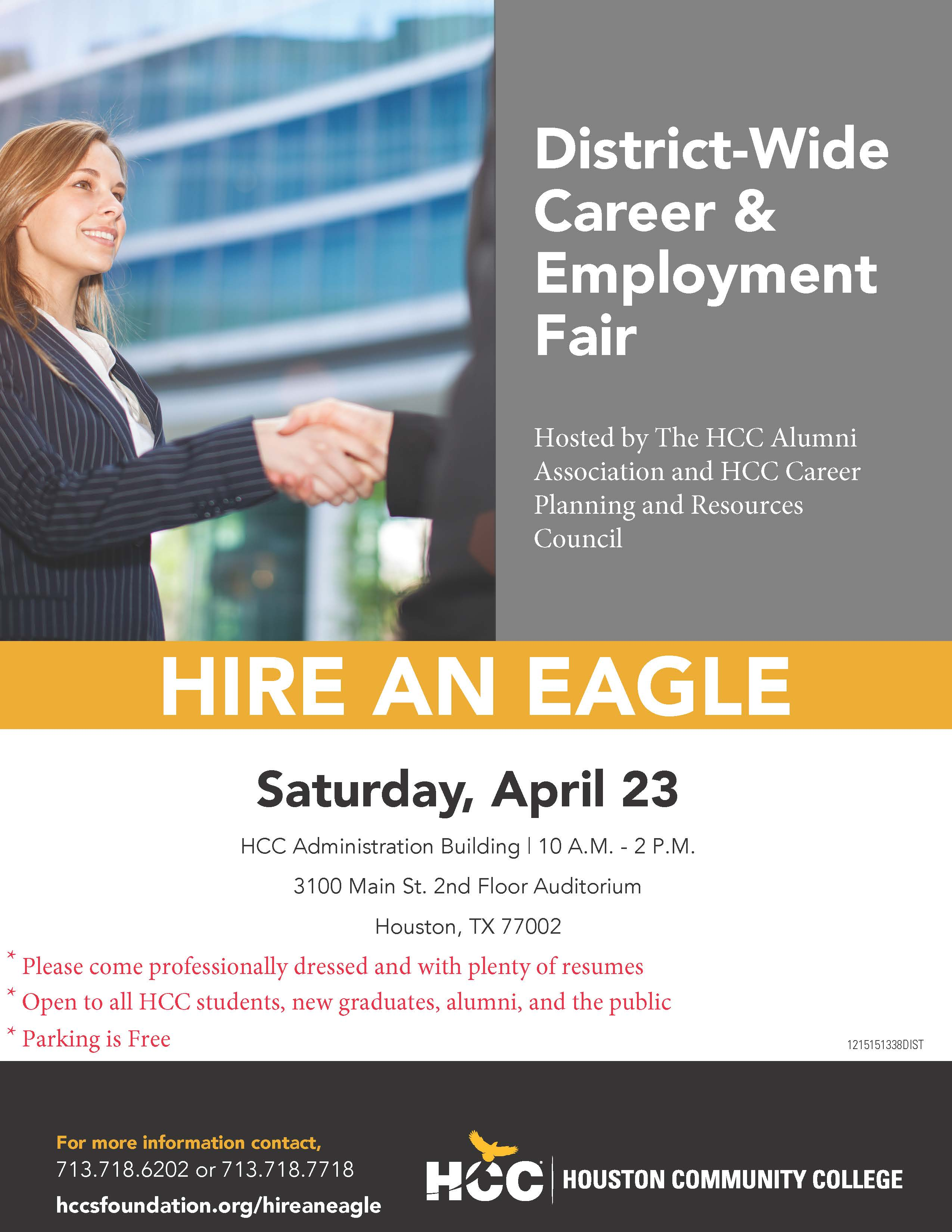 Hire An Eagle Houston Community College Foundation