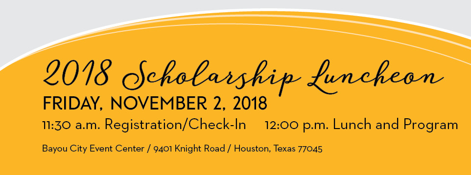 scholarship luncheon banner